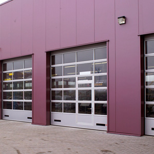 Foldable Compact Sectional Doors