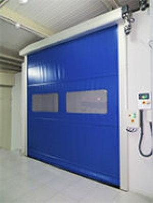 INKEMA Aluminium Frame Rolling High Speed Door