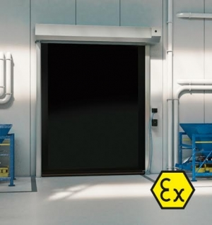 DYNACO S-539 ATEX CATEGORY 2 COMPACT High Speed Door