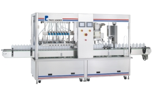 Automatic Volumetric Filling and Capping Machine