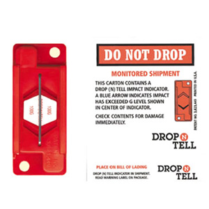 Drop-N-Tell Warning Labels