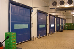 INKEMA Metal Frame Rolling High Speed Door