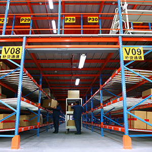 Carton Flow Racking & Mezzanine Floor